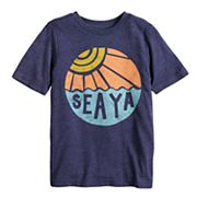 Boys 4-10 Jumping Beans® 'Sea Ya' Sun Graphic Tee