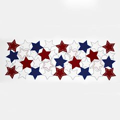 Celebrate Americana Together Star Cutout Table Runner - 36'
