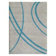 World Rug Gallery Florida Soft Cozy Swirl Shag Rug