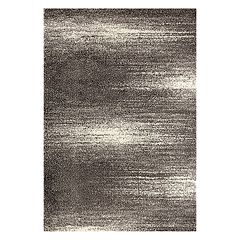 World Rug Gallery Florida Contemporary Ombre Abstract Shag Rug