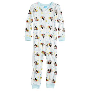 Disney's Mickey Mouse Toddler Boy Footless One-Piece Pajamas