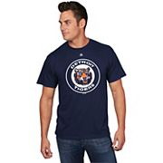 Men's Majestic Detroit Tigers Cooperstown Official Logo Tee