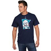 Men's Majestic Minnesota Twins Cooperstown Official Logo Tee