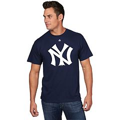 Men's Majestic New York Yankees Cooperstown Official Logo Tee