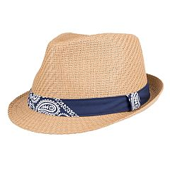 Men's Levi's Bandana Band Straw Fedora