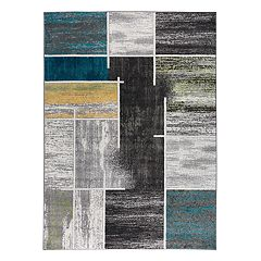 World Rug Gallery Vale Modern Geometric Rug