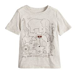 Boys 4-10 Jumping Beans® Wild Animals Graphic Tee