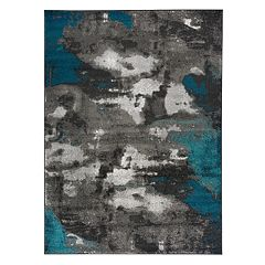 World Rug Gallery Vale Modern Distressed Abstract Rug