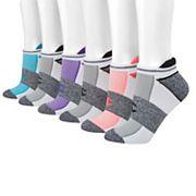 Women's Champion 6 pkCushioned Heel Tab No-Show Socks