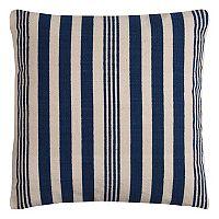 Rizzy Home Vertical Stripe Cotton Canvas Throw Pillow