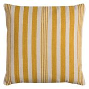 Rizzy Home Vertical Stripe Cotton Canvas Throw Pillow