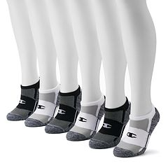 Women's Champion 6-pk. Cushioned Double Dry No-Show Socks