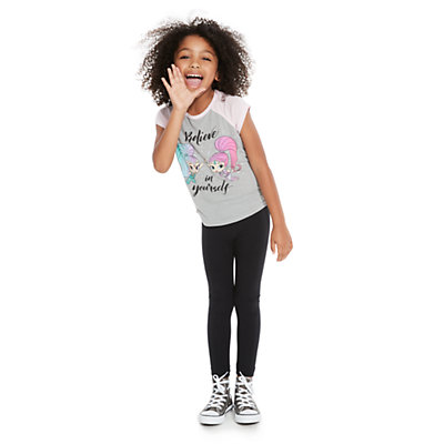 Girls 4-10 Jumping Beans® Long Solid Leggings