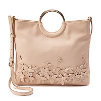 LC Lauren Conrad Flower Convertible Crossbody Bag