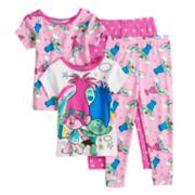 Toddler Girl DreamWorks Trolls Poppy & Branch Tops & Bottoms Pajama Set