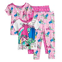 Toddler Girl DreamWorks Trolls Poppy & Branch Tops & Bottoms Pajama Set