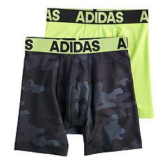 Boys 8-20 adidas Performance 2-Pack Boxer Briefs