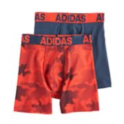 Boys 8-20 adidas Performance 2-Pack Boxer Briefs