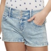 Juniors' Tinseltown Jean Shaper Shorts