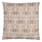 Rizzy Home Doh Scroll Throw Pillow