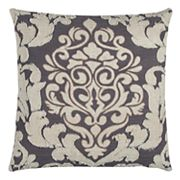 Rizzy Home Doh Damask Throw Pillow