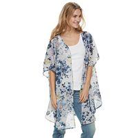 Women's SONOMA Goods for Life™ Chiffon Floral Kimono