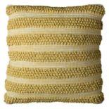 Rizzy Home Textured Stripes I Throw Pillow