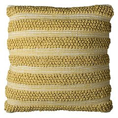 Rizzy Home Textured Stripes I Throw Pillow