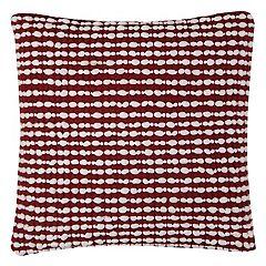 Rizzy Home Textured Stripes II Throw Pillow