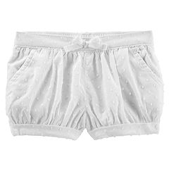 Baby Girl OshKosh B'gosh® Swiss Dot Bubble Shorts