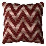 Rizzy Home Chevron Textured Throw Pillow