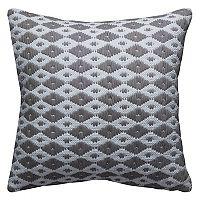 Rizzy Home Diamond Pattern Throw Pillow