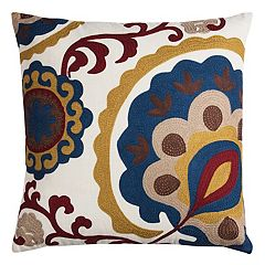 Rizzy Home Bold Medallion Throw Pillow