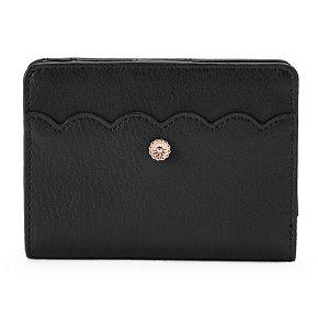LC Lauren Conrad Choix Scalloped Wallet
