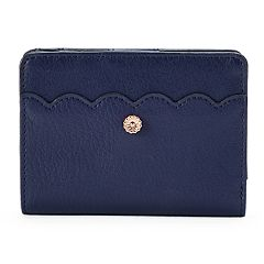 LC Lauren Conrad Choix Scalloped Wallet