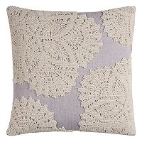 Rizzy Home Medallion Lace I Throw Pillow