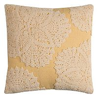 Rizzy Home Medallion Lace II Throw Pillow
