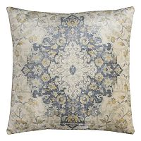 Rizzy Home Central Floral Medallion Throw Pillow