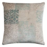 Rizzy Home Block Pattern Scroll Throw Pillow
