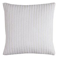 Rizzy Home Textured Stripe Throw Pillow
