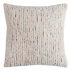 Rizzy Home Stripe Thick Textured Throw Pillow