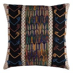 Rizzy Home Tribal Mixed Media Throw Pillow