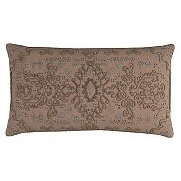 Rizzy Home Center Medallion Oblong Throw Pillow