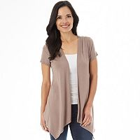 Women's Apt. 9® Crochet Back Cardigan