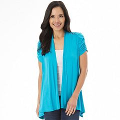 Women's Apt. 9® Ruched Cardigan