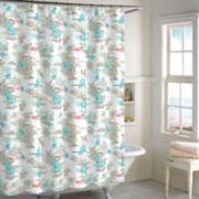 Destinations Hawaiian Shirt Shower Curtain