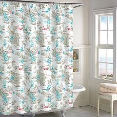 Destinations Hawaiian Shirt Shower Curtain
