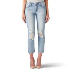 Women's Rock & Republic® Kaia Ripped Crop Jeans