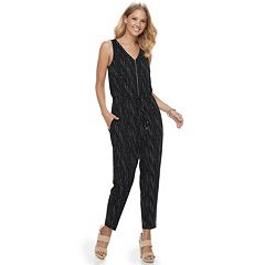 Women's Apt. 9® Zipper Accent Jumpsuit
