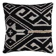 Rizzy Home Tribal Medallion Wool Blend Throw Pillow